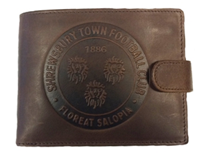 The club shop are now selling wallets bearing the new Loggerheads crest. Excellent stuff.