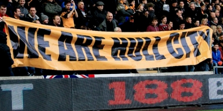 Hull City fans protest against re-brand proposal